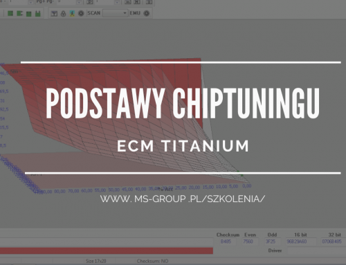 Szkolenie: Podstawy chiptuningu – ECM Titanium 24.04.2021